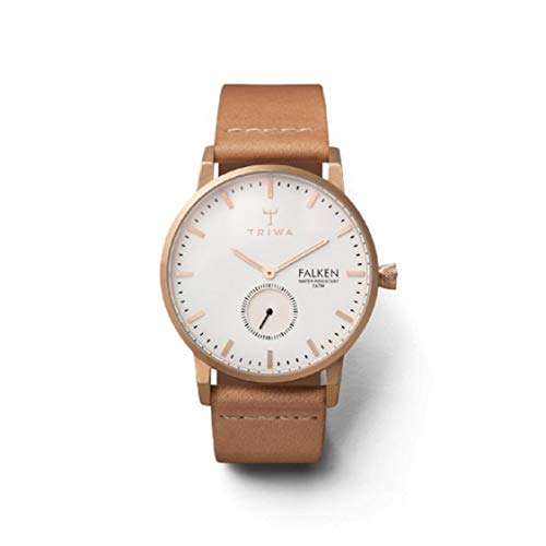 Triwa Unisex Erwachsene Leder Uhrenarmband FAST101-CL010614
