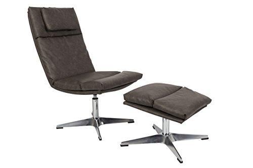 Felis Lifestyle Chill stoel, vintage, beige 83 x 53 x 96 cm grijs.