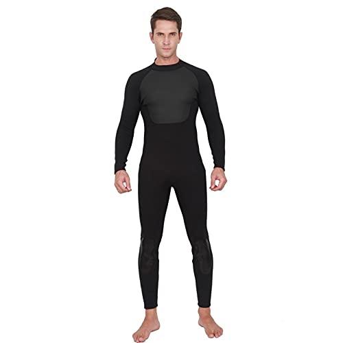 SONG Trajes de Buceo Hombre, Estilo de Moda bajo Agua Buceo surfeando Snorkeling Traje de Surf 3mm de Buceo de Cuerpo Completo (Color : Man, Tamaño : XL)