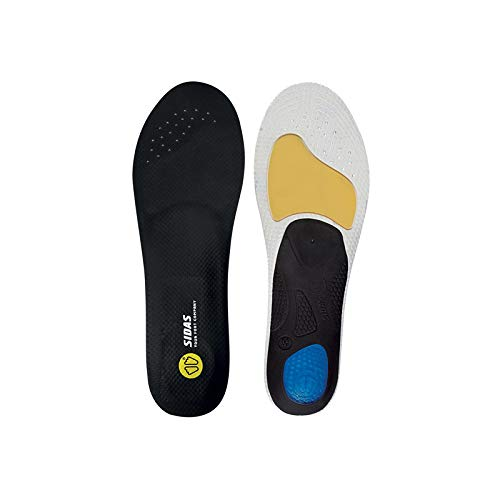 Sidas 3D Unisex Football Insoles, unisex_adult, CSE3DFOOT19, Black, FR : S (Taille Fabricant : 37-38)