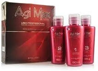 AGI Max queratina brasileña Tratamiento Capilar Kit 60ml–3pasos–la mejor alisado.