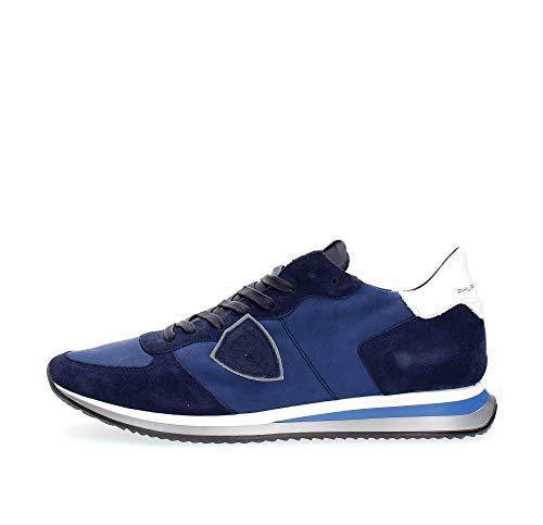 Philippe Model Herren Tropez Sneakers blu 43 EU