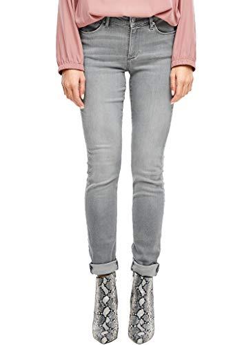 s.Oliver Damen Izabell Skinny: Stretchjeans grey 40.34