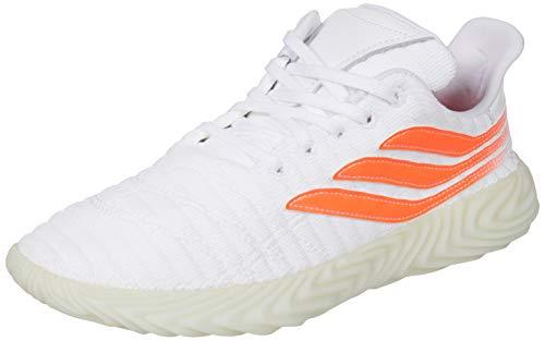 adidas Sobakov, Zapatillas Hombre, Blanco (FTWR White/Solar Red/Blue Tint S18 10013915), 44 2/3 EU ✅