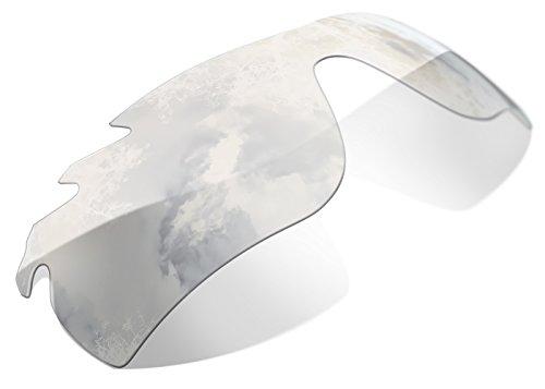 Cristales de Recambio Compatibles para Oakley Radarlock Vented, Transparentes, Fotocromatico