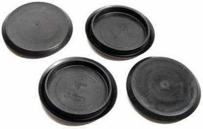 4 Pack Genuine New 55% OFF CAPLUGS Brand OFFicial store Black Hole Flexible Plastic 2''
