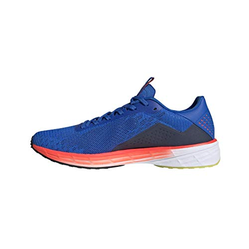 adidas Men's SL20 Summer Ready Running Shoe, Glory Blue/White/Solar Red, 11.5 M...