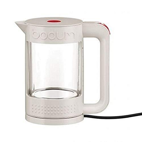 Bodum BISTRO Elektrischer Wasserkocher (Doppelwandig, 1,1 liters, 1500-Watt) cremefarben