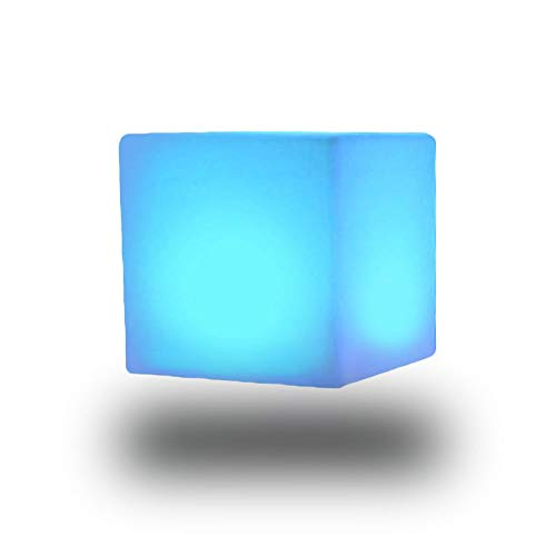 Gradiente de 16 colores Luz exterior patio lámpara taburete interior noche RC Ajustable IP65 Módulo extraíble impermeable y lámpara de noche sin cable recargable, perfecto para niños juguetes de guard