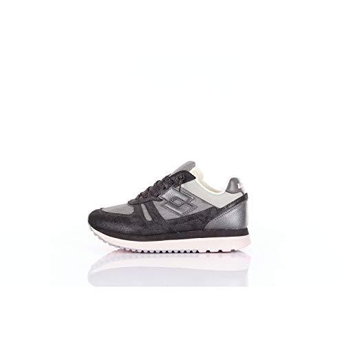 scarpe lotto japan donna LOTTO Sneakers Tokyo Wedge Glitter W Nero Laminato T4628-36