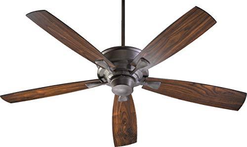 "Quorum International 42605 Alton 60"" 5 Blade Indoor Ceiling Fan, Toasted Sienna"