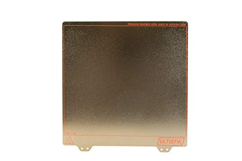 ULTISTIK Premium Powder Coated Ultem (PEI) Textured Build Plate 220 x 220 for Wanhao, Anet, Monoprice 3D Printers