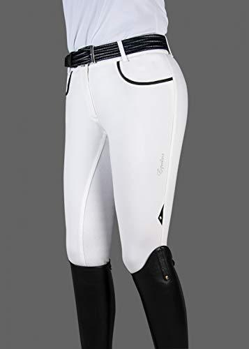 Equiline Damen Reithose Penny Full Grip Farbe Reitbekleidung weiß, Hosengrößen 36