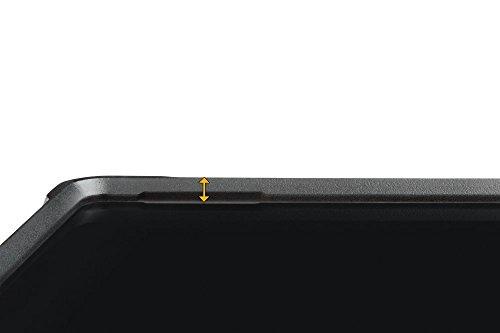 Kensington K97442WW BlackBelt Robuste Schutzhülle (für Surface Pro und Surface Pro 4 - Robuste Schutzhülle mit Handschlaufe) schwarz