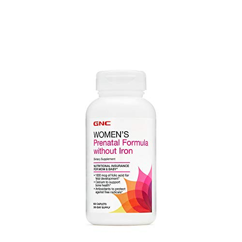 GNC Women's Prenatal Formula Without Iron