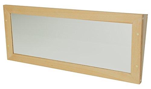 Mobeduc 600714H18 Miroir incliné de Toilette pour Enfant en Bois Hêtre 100 x 10 x 40 cm