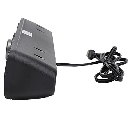 Altavoz USB, conector de audio de 3,5 mm Altavoz Bluetooth con efecto de sonido de calidad cinematográfica para fiestas en casa para dormitorios(Bluetooth version black, Pisa Leaning Tower Type)