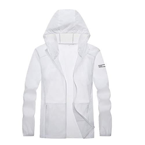 Sun Proof Clothing Herren Hautbekleidung Outdoor Sport im Sommer Ultra Gr. XXXX-Large, weiß