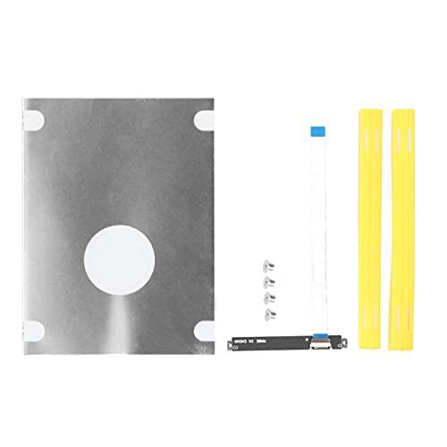 """ASHATA Adaptador de Conector de Cable de Disco Duro HDD/SSD de 2,5 Pulgadas con Soporte para ASUS VivoBook S2 S4300U S5300U, Cable de Disco Duro SATA de 2,5""""SSD para ASUS VivoBook, 8 cm"""