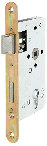 GAH-Alberts 215224 Einsteckschloss speziell für Rahmentore, ohne Schließblech, verzinkt, Dornmaß 55 mm
