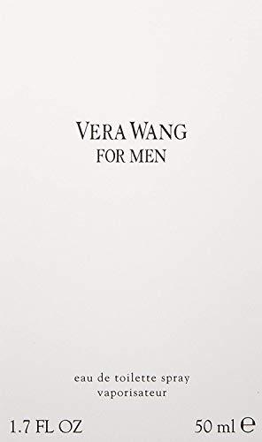 Vera Wang, Eau de Toilette da uomo con vaporizzatore, 50 ml