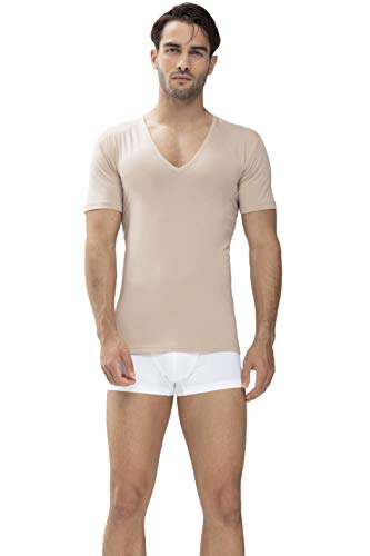Mey Basics Serie Dry Cotton Herren Shirts 1/2 Arm, Light Skin, 8