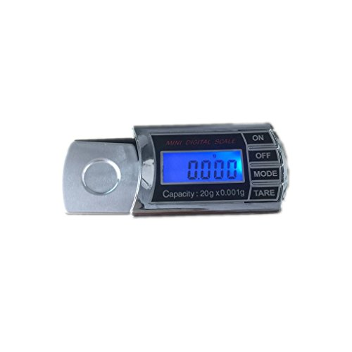 Topker 20g / 0.001g LCD Digital LCD Digital Jewelry Pocket Scale Mini Electronic Jewelry Scale balanza de precisión balanza de Herramientas