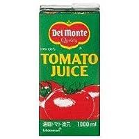 デルモンテ トマトジュース1L紙パック×12(6×2)本入×(2ケース)