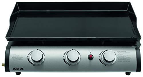 JUSTUS Grilleau 3 BBQ-Gas-Plancha, schwarz, 240