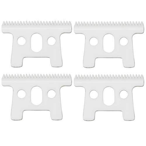 Professional Replacement Ceramic Moving Blades for Pro Li Trimmer D7#32655 D8#32400, Ceramic Moving Blades ONLY, Compatible with D7 D8 SlimLine Pro Li Andis Hair Trimmer(Off White, 4PCS) -  AIRERA, MPN710033