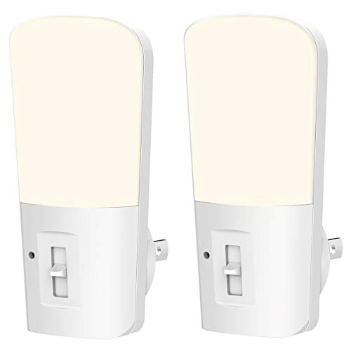 LOHAS Dimmable Night Light, Plug in LED Night Light Dusk to Dawn Light, Daylight 5000k from 5lm to...