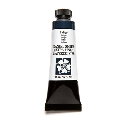 DANIEL SMITH Extra Fine Watercolor 15ml Paint Tube, Indigo