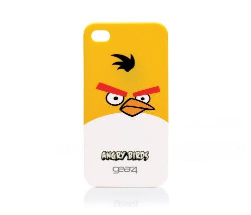 Gear4 Angry Birds Schutzhülle für Apple iPhone 4 gelb