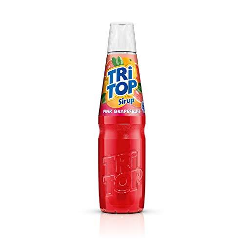 TRi TOP Getränkesirup Pink Grapefruit 1 x 600ml | Sirup für Wassersprudler | 1 Flasche ergibt ca. 5 Liter Erfrischungsgetränk