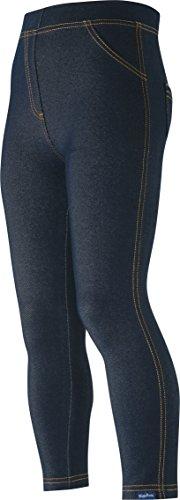Playshoes Legginsy unisex o wyglądzie dżinsu, niebieski (Original 900), 74 cm