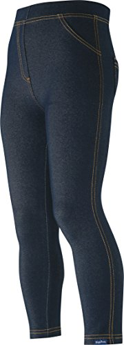 Playshoes uniseks-baby legging Leggings lang Jeans-Optik
