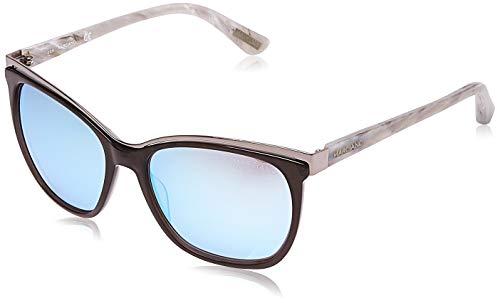 Guess By Marciano Sunglasses Gm0745 20X 58 Occhiali da Sole, Nero (Schwarz), 58.0 Donna