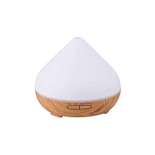 Juego de Regalo de difusor y Aceite Esencial de aromaterapia, humidificador de Apagado automático, Luces LED de 7 Colores, Grado terapéutico