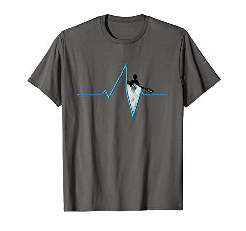 Kanu, Kajak, Kanadier und Paddeln, Pulse Shirt. T-Shirt