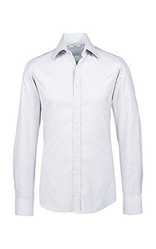 GREIFF Herren-Hemd Modern with 37,5 Slim Fit, 6689, Größe 43/44