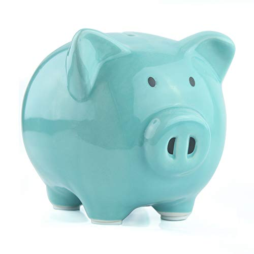 KOHIENWO Piggy Bank Classic Cute Ceramic Coin Money Piggy Bank, Mini & Small Makes a Perfect Unique...