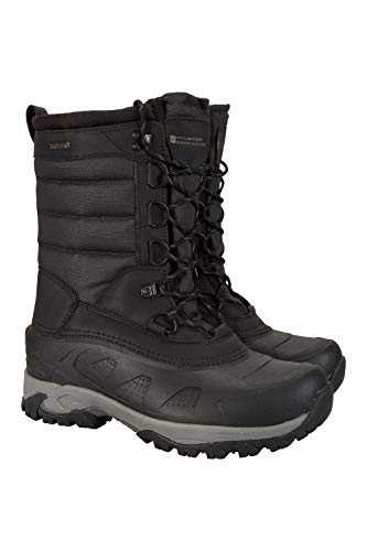 Mountain Warehouse Ice Peak Herren Schneestiefel Kohle 43