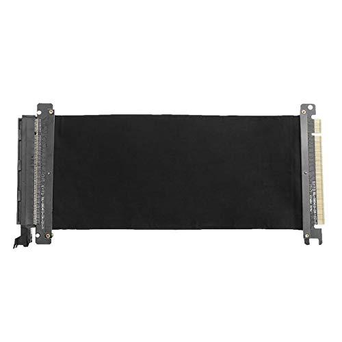 ACAMPTAR 24-cm-Hochgeschwindigkeits-PC-Grafikkarten PCI-Express-Anschlusskabel Riser-Karte PCI-E 16X für Flexiblen Kabelverl?Ngerungsport