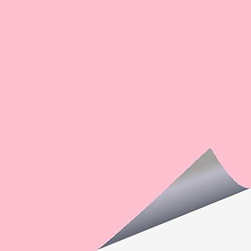 timalo 50 Stück Fliesenaufkleber 15x15 cm pastellrosa matt - für Küche und Bad - für alle Wandfliesen, Babyrosa matt rosa