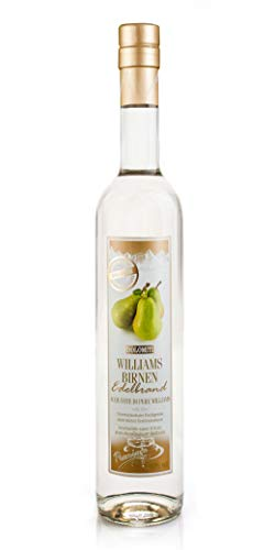 DOLOMITI Williams Edelbrand 40% vol. | Williams Christ Birnenbrand | fruchtiger Brand aus Williams-Christ-Birnen | 1 x 0,5 Liter