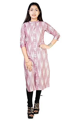 Riyashree Women's Cotton Straight A-Line Kurta Kurti for Women and Girls Daily use as Well as ocassinal use. RC 005