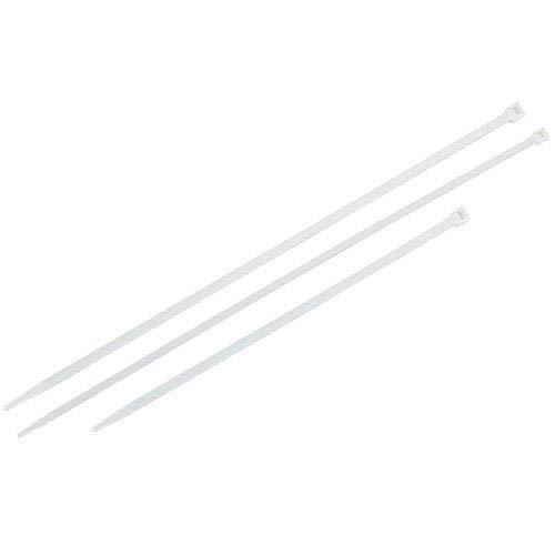 Bridas Nylon 100% Natural 7,5x450 mm. (Bolsa 100 Unidades)