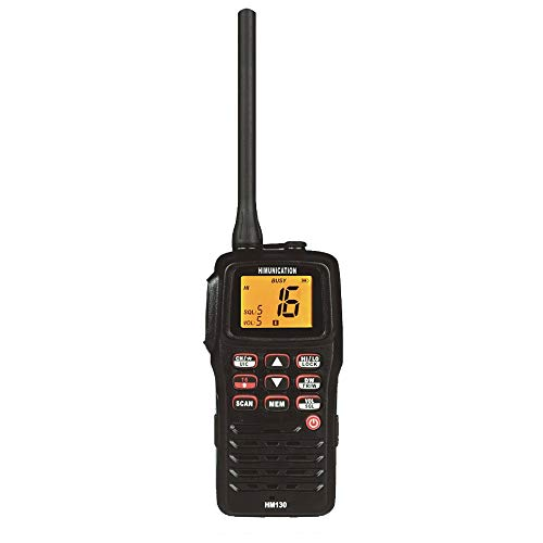 Himunication Hm130 Radio Vhf Portatil Estanca Resistencia Agua Ip67