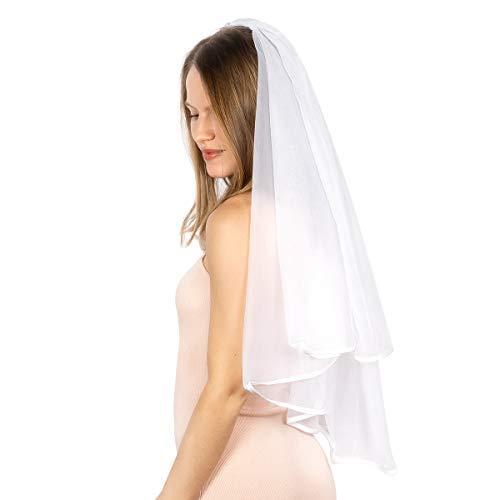 xo, Fetti Bridal Veil | Bachelorette Party Decorations, Bride To Be Gift, Bridal Shower, Wedding