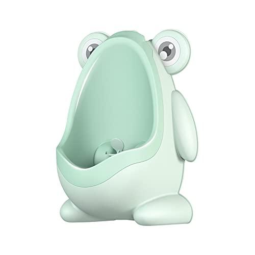 OCGDZ 개구리 새끼 변기 우리 아이들 포티 트레이닝 아기 소년 화장실 벽 벽으로 장식된 우리 소녀 여행 포티 (색깔 : 녹색)